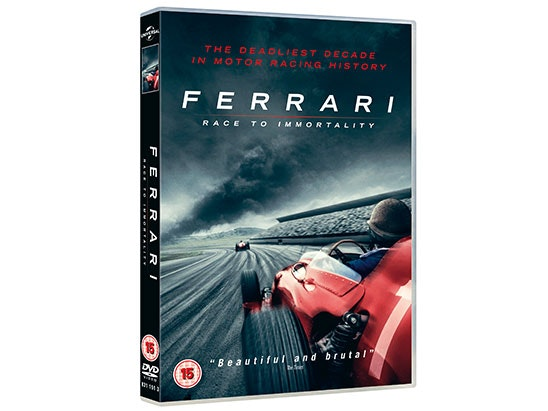 FERRARI: RACE TO IMMORTALITY on DVD sweepstakes