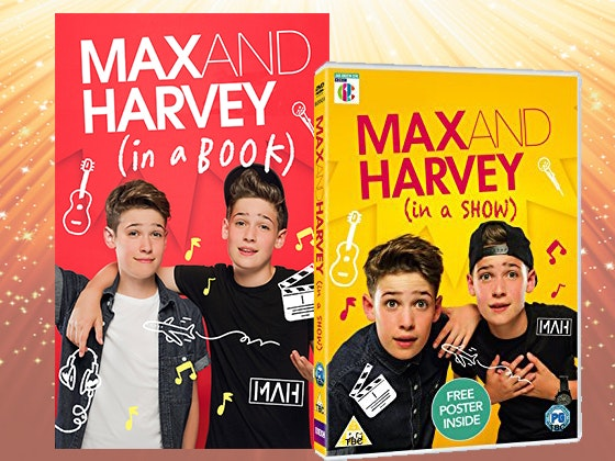 Max & Harvey Book and DVD sweepstakes