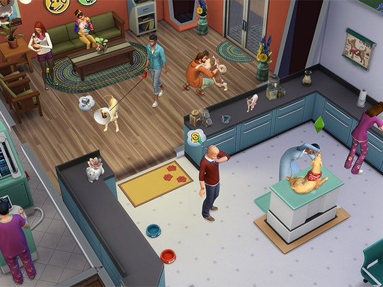 The Sims™ 4 Cats & Dogs sweepstakes