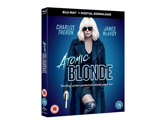 Atomic Blonde Blu-ray sweepstakes