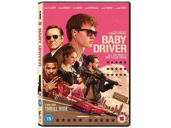 Baby Driver on DVD sweepstakes