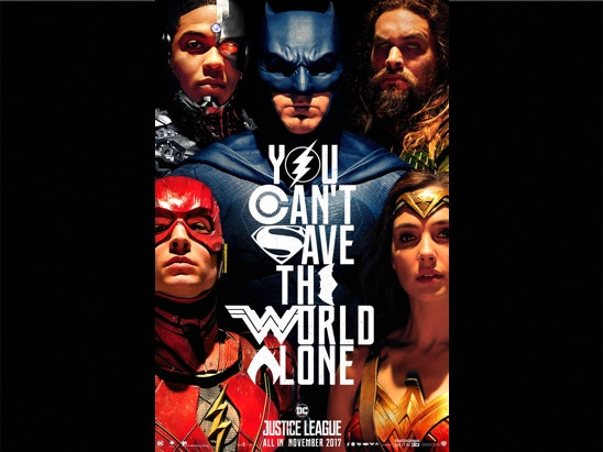 Justice League sweepstakes