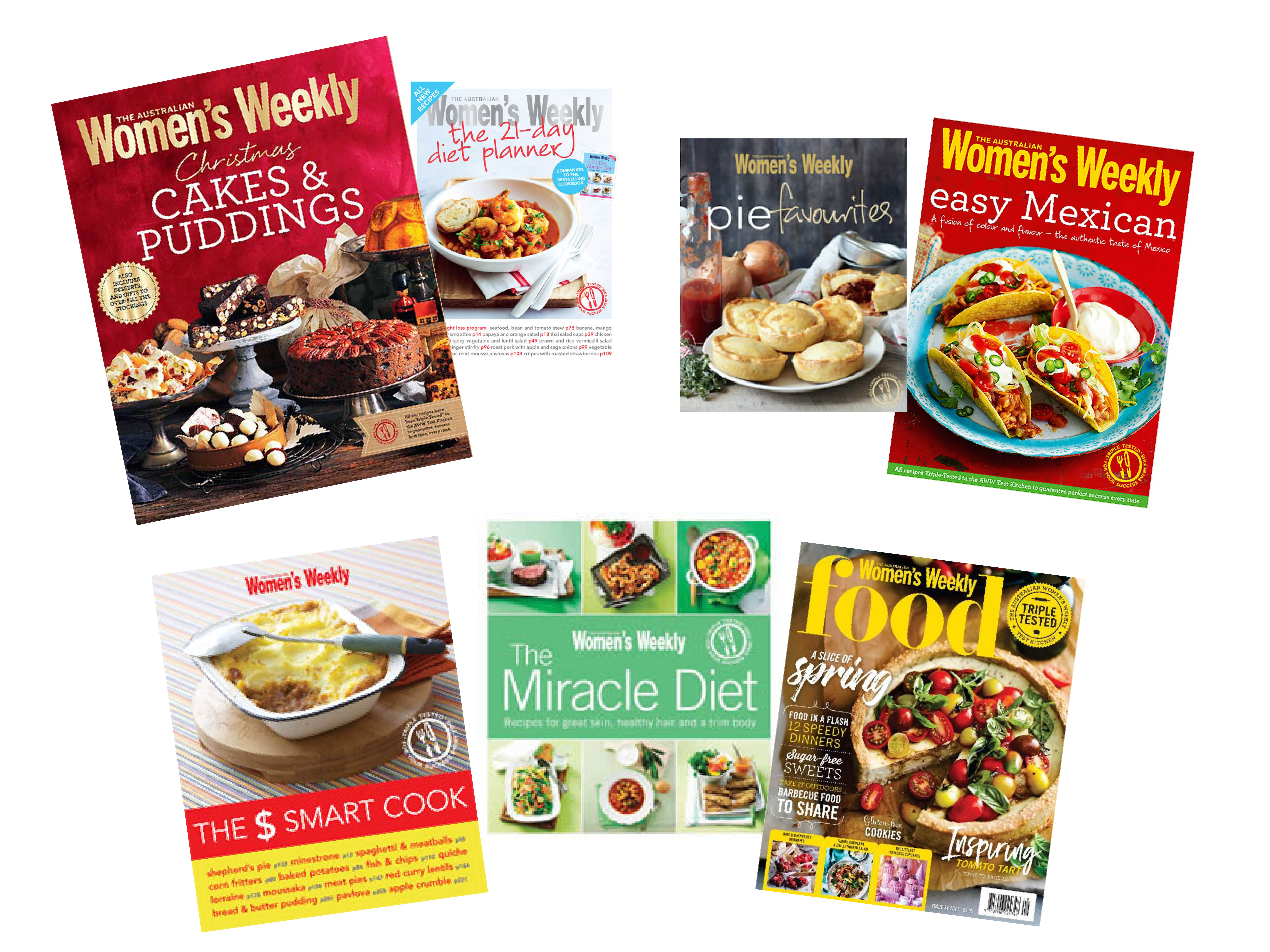 WW cook books sweepstakes