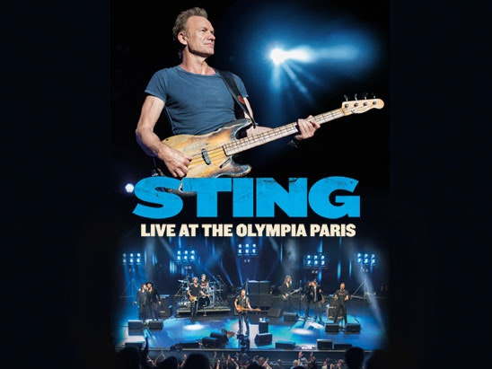 Sting: Live At The Olympia Paris sweepstakes