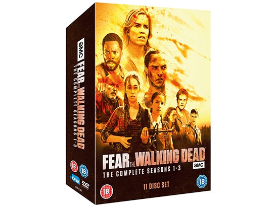 Win! Fear The Walking Dead: The Complete Seasons 1-3 On DVD, Out Now! sweepstakes