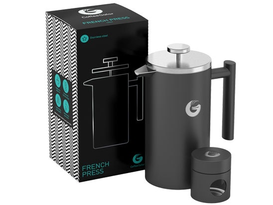 a Coffee Gator French Press coffee maker sweepstakes