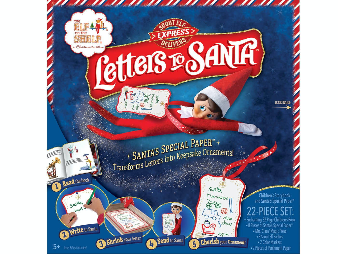 Letters to santa  sweepstakes
