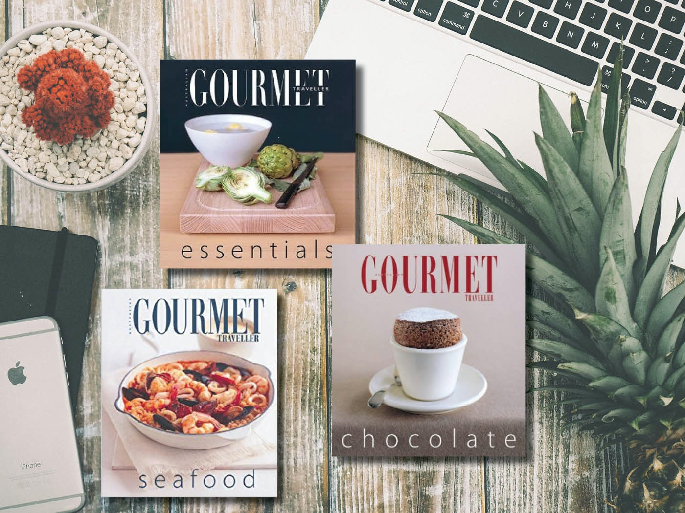 Sweepon gourmet traveller cook books
