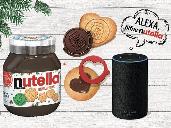 nutella Überraschung + Amazon Echo gewinnen! Gewinnspiel