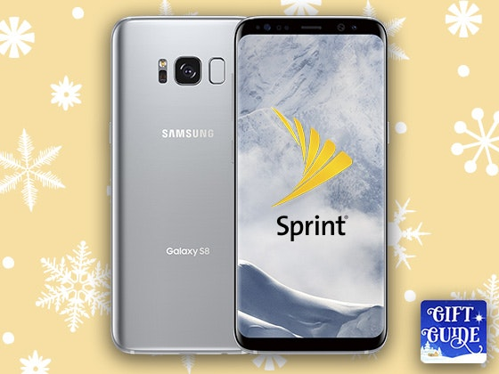 Holiday Gift Guide: Samsung Galaxy S8 from Sprint sweepstakes