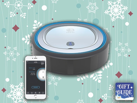 Holiday Gift Guide: Hoover Rogue 970 Robot Vacuum sweepstakes