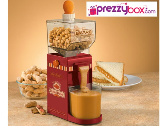 a Peanut Butter Maker from Prezzybox sweepstakes