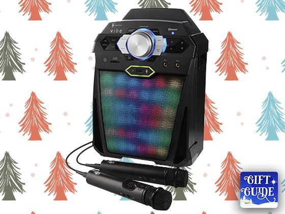 Holiday Gift Guide: VIBE Hi-Def Karaoke System sweepstakes