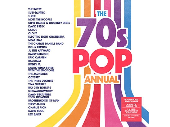 The 70s Pop Annual sweepstakes