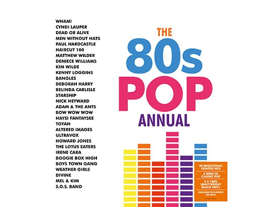 80s Pop Annual  sweepstakes