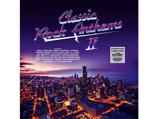 Classic Rock Anthems sweepstakes