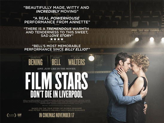 Film Stars Don't Die In Liverpool book sweepstakes
