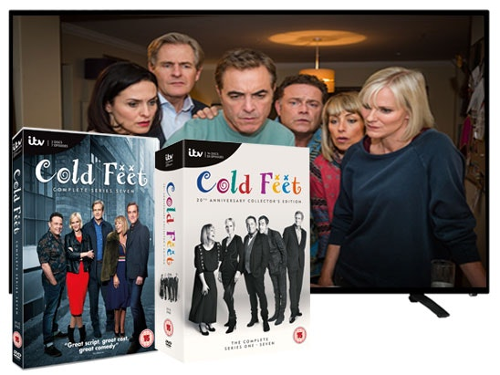 Cold Feet Series 7 plus series 1-7 box set & a 32in TV sweepstakes