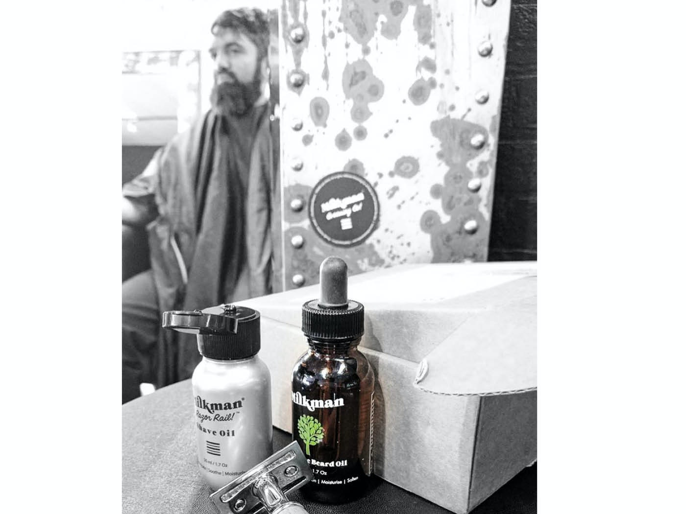 Milkman Grooming Co package sweepstakes