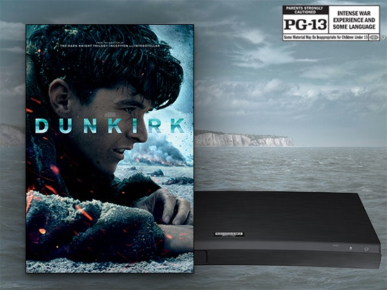 Dunkirk on Digital + Samsung Blu-ray Player sweepstakes