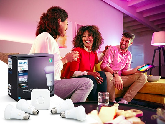 Philips Hue White and Color Ambiance Starter Kit sweepstakes