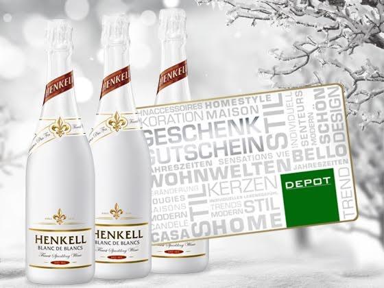 Sektpaket von Henkell gewinnen  Gewinnspiel
