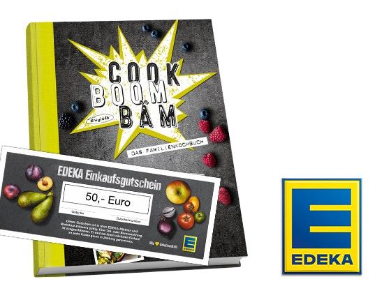 Kochbuch und Gutschein von EDEKA Gewinnspiel