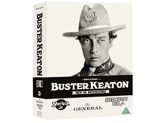 BUSTER KEATON: 3 FILMS sweepstakes