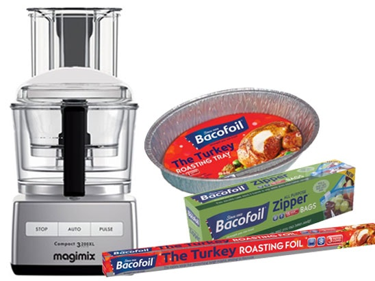 Bacofoil christmas magimix competition