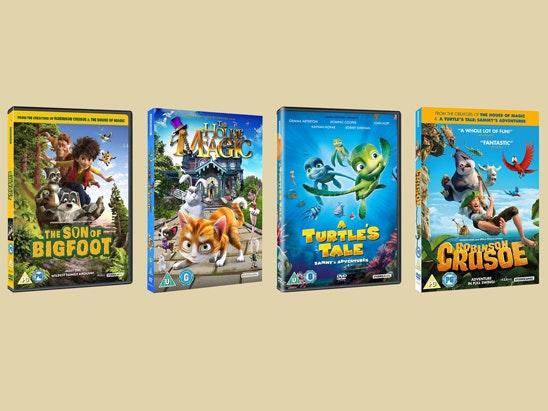 The Son of Bigfoot DVD bundle sweepstakes