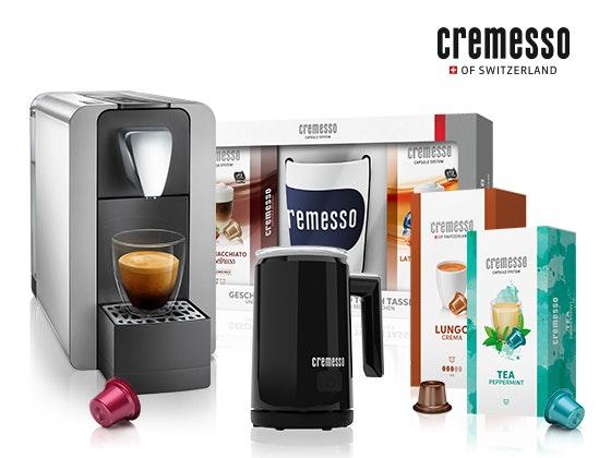 2 x Cremesso Kaffee-Genusspaket Gewinnspiel