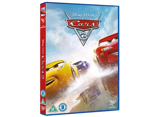 Cars 3 on DVD sweepstakes