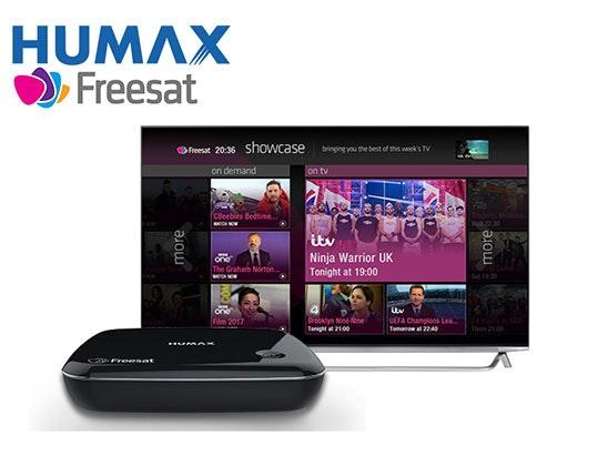 HUMAX HB-1100S Freesat Smart TV Box! sweepstakes