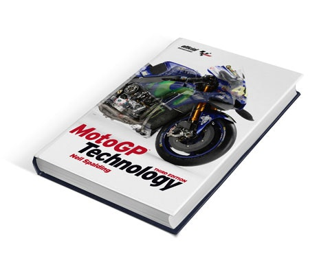 MotoGP Technology hardback by Neil Spalding sweepstakes