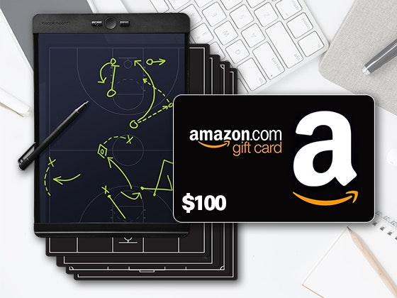 Blackboard by Boogie Board + $100 Amazon Gift Card sweepstakes