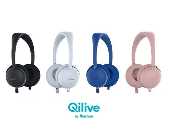 jeu concours 8 casques audio Qilive by Auchan