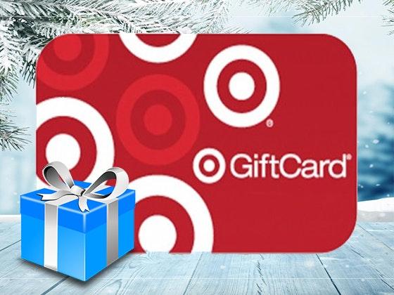 Cybermonday target flash giveaway