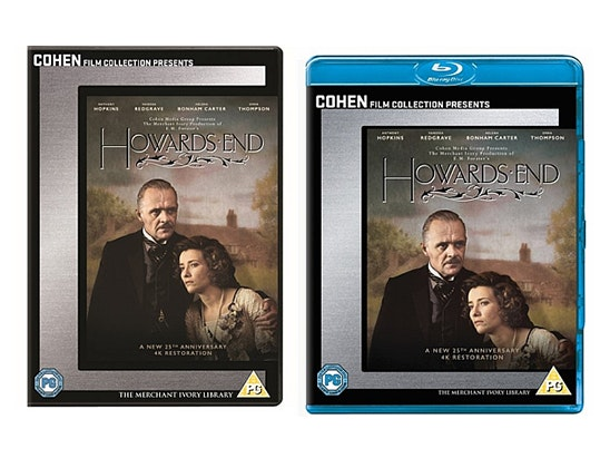 HOWARDS END on Blu-ray  sweepstakes