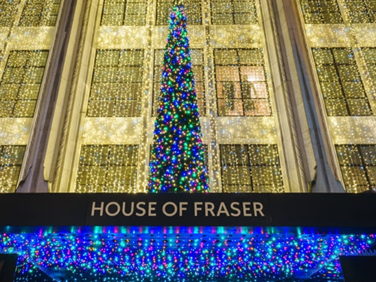 £500 House of Fraser vouchers from Ultra Chloraseptic  sweepstakes