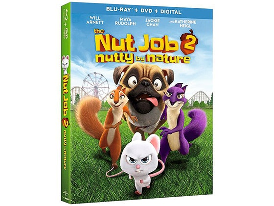 The Nut Job 2: Nutty By Nature DVD sweepstakes