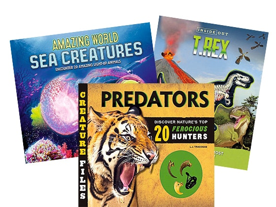 Creature Files and Inside Out Book Series Bundle sweepstakes