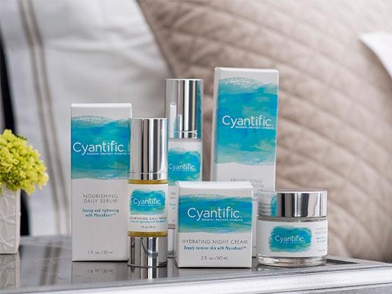 Cyantific skincare giveaway 1