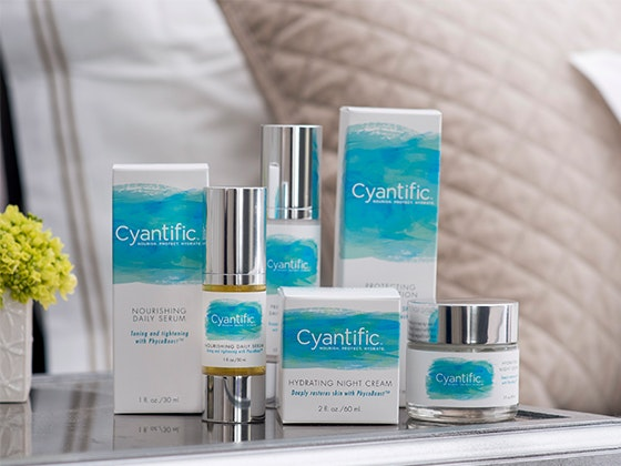 Cyantific Anti-Aging Skin Care Line sweepstakes