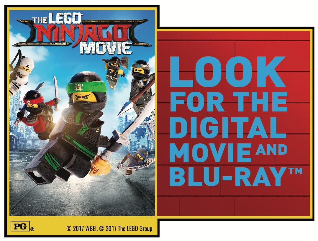 """THE LEGO® Ninjago® Movie"" on Digital sweepstakes"