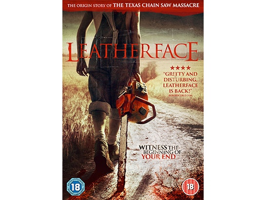 Leatherface on DVD  sweepstakes