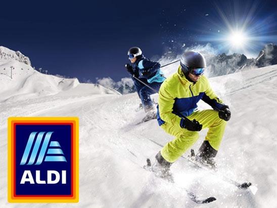 Aldi Specialbuys Ski range  sweepstakes
