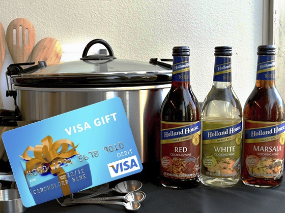 Holland House Cooking Wines & $100 Visa Gift Card sweepstakes