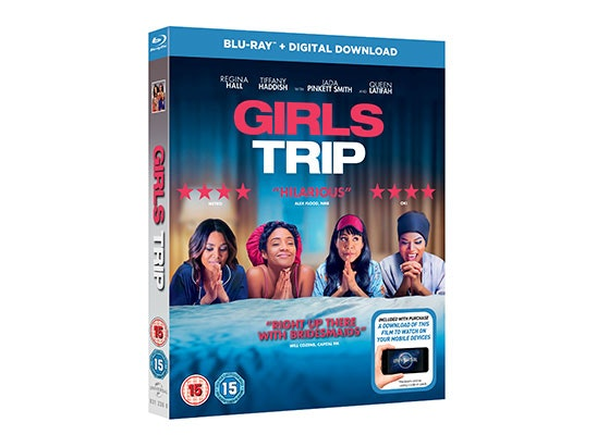 Girls Trip on Blu-ray sweepstakes