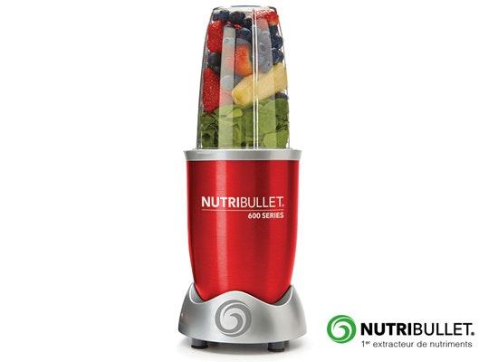 jeu concours 5 extracteurs de nutriments NUTRIBULLET® à gagner
