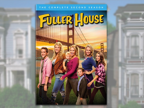 Fuller House: The Complete Second Season DVD sweepstakes